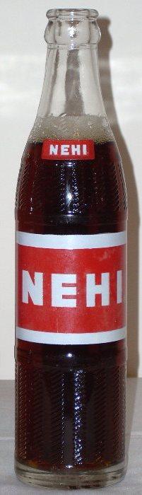 old nehi bottles history